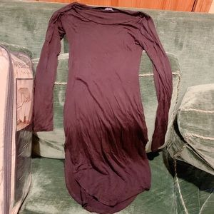 Black Dress With skits in each side